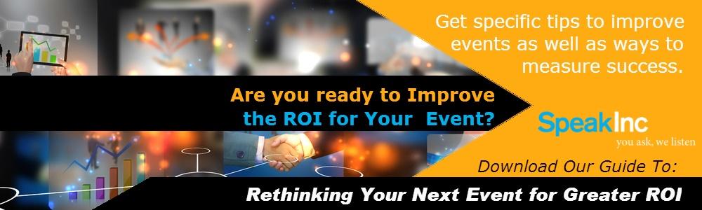 Improve ROI at your next event